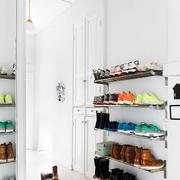 80平米北欧风格进门玄关鞋柜装修效果图