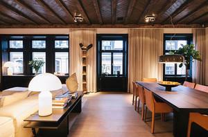 现代风格自然朴素120平米四室一厅装修效果图