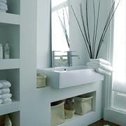 5平米北欧风格简约卫生间洗漱台装修效果图