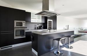 极简主义风格大户型厨房设计装修效果图大全