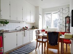 20平米欧式风格厨房吧台设计装修效果图大全