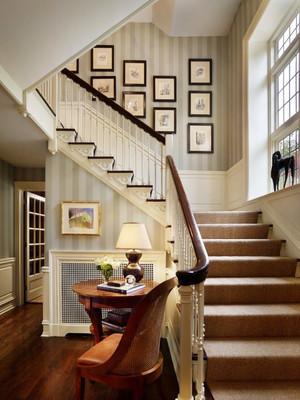 150平米欧式风格复式楼楼梯装修效果图赏析