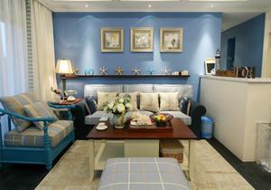 110平米地中海风格公寓装修效果图