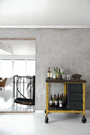 112平米现代loft风格公寓装修效果图赏析