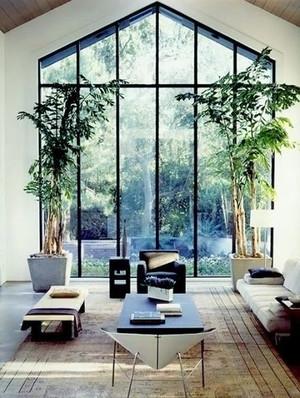 224平米别墅后现代风格客厅窗户设计效果图