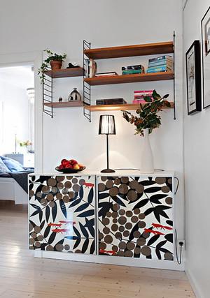 70平米北欧风格时尚混搭男生公寓装修效果图