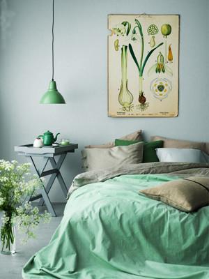 现代清新自然小户型卧室装修效果图赏析