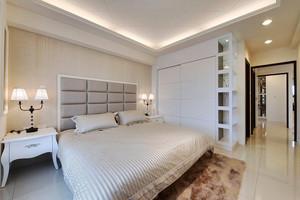 135平米现代简约风格三室两厅装修效果图