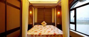 115平米中式风格古朴别致三室一厅设计效果图