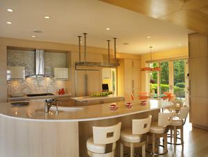 300平米现代简约风格别墅设计装修效果图赏析