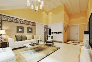 现代简约风格温馨大户型室内设计装修效果图