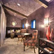 现代法式风格创意客厅设计装修效果图赏析