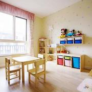15平米现代简约风格创意儿童房设计装修效果图