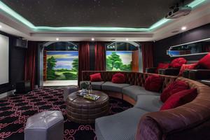 超大法式奢华别墅客厅设计装修效果图赏析