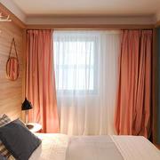 北欧风格简约风格男生公寓卧室装修效果图