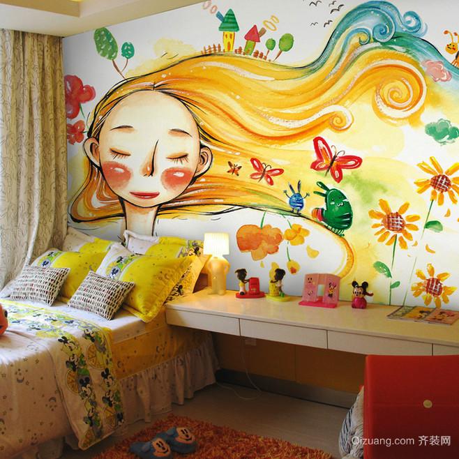 2016动感的欧式大户型儿童房装修效果图鉴赏