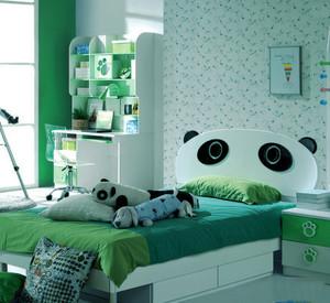10平米现代简约风格缤纷色彩儿童房卧室装修效果图大全