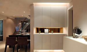 168平米后现代风格精致复式楼装修效果图赏析