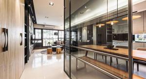 158平米后现代风格四室一厅设计装修效果图鉴赏
