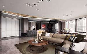 175平米后现代风格四室两厅装修效果图赏析