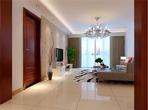 90平米现代简约风格两室两厅装修效果图