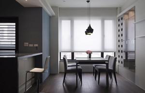 146平米后现代极简主义风格三室一厅装修效果图