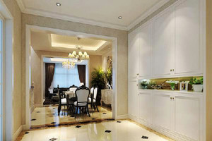 欧式风格大户型室内设计装修效果图