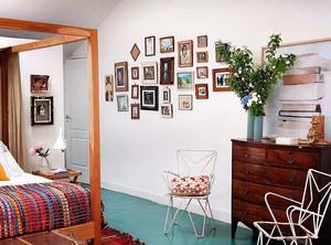 北欧风格女生卧室照片墙装修效果图赏析
