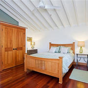 8平米韩式风格原木风卧室设计装修效果图