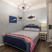 10平米简欧风格男生儿童房设计装修效果图