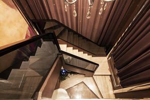 现代风格别墅楼梯设计装修效果图赏析