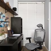 5平米现代简约风格小书房设计装修效果图