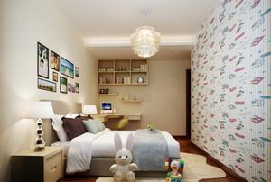 现代简约风格儿童房精美吊灯设计装修效果图