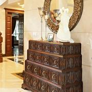 欧式风格别墅门厅设计装修效果图赏析