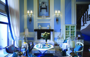 200平米地中海风格精致别墅室内设计装修效果图