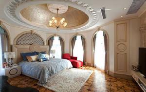 新中式混搭欧式风格大户型室内设计装修效果图