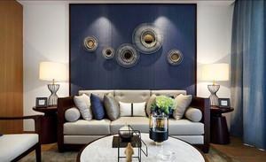 90平米后现代风格精致公寓设计装修效果图