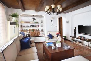 70平米小户型美式田园风格精品公寓装修效果图
