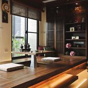 8平米东南亚风格朴素榻榻米设计装修效果图