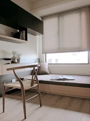 9平米现代中式风格榻榻米床装修效果图赏析