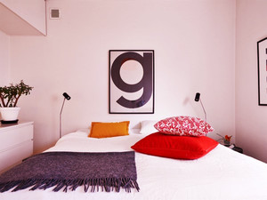 15平米都市清新风格女生卧室装修实景图大全