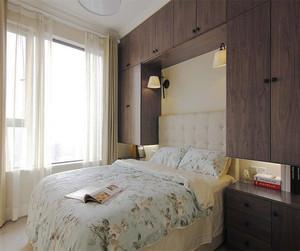 现代清新风格时尚靓丽两居室装修效果图