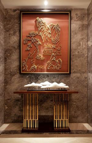 后现代风格精致大户型玄关设计装修效果图赏析