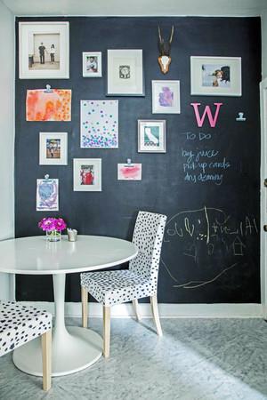 5平米时尚清新轻快客厅照片墙装修效果图大全