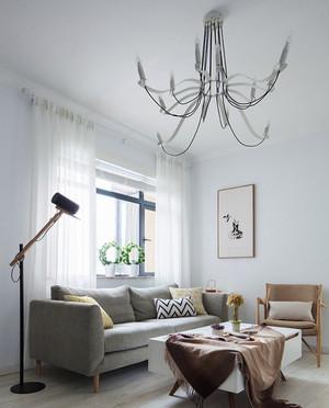 小户型北欧风格客厅吊灯设计效果图赏析