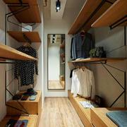 现代loft风格单身公寓衣帽间装修设计效果图赏析