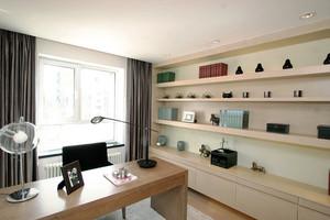 126平米现代风格书房装修效果图赏析