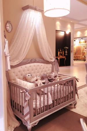 110平米欧式风格儿童床设计效果图赏析