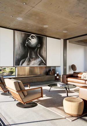 95平米后现代风格客厅装修效果图赏析