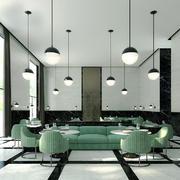 130平米后现代风格餐厅装修效果图赏析